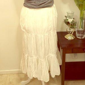 Dresses & Skirts - White Maxi Skirt